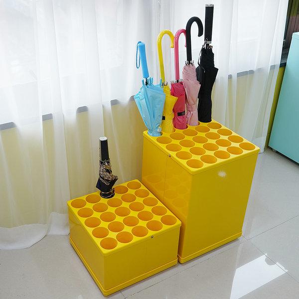 우산꽂이(노랑 단우산A/장우산B)대용량 철제 우산정리