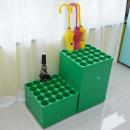 우산꽂이(초록 단우산A/장우산B)대용량 철제 우산정리