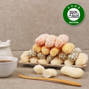 충주사과한과 달콤한 전통간식 유과세트 900g(300gx3봉
