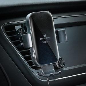 자동차 차량용 스마트폰 대시보드 CD 무선충전거치대