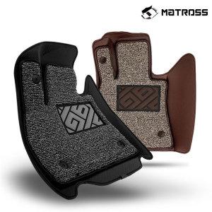 매트로스 엣지 6D 프리미엄 자동차매트 코일매트