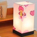 핑크요정 패브릭갓 사각 스탠드조명 온오프스위치