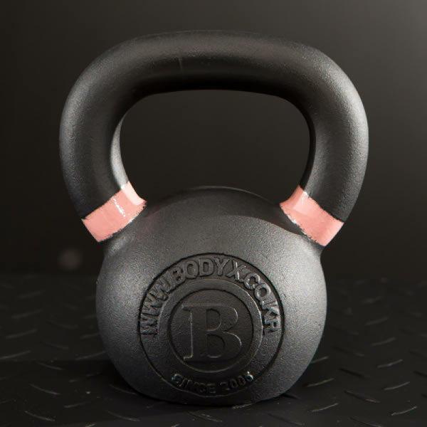 (현대Hmall) 맨즈헬스 협찬  바디엑스  솔리드 아이런 블랙케틀벨 SOLID IRON BLACK KETTLEBELL 8kg (kg당