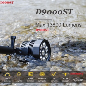 ELF-D9000ST/수중써치/해루질써치 H35A 풀세트 B type