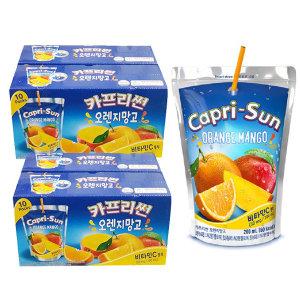 카프리썬 오렌지망고 200mlx40팩