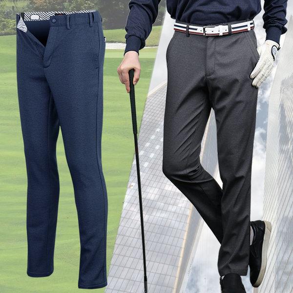 남성 슬림 카치온스판 허리조절 골프바지 가을 신상