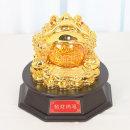황금 삼족 두꺼비 소 인테리어 장식품 장식 소품 인형