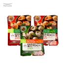 얇은피만두 혼합 6봉 (김치4개+고기2개)