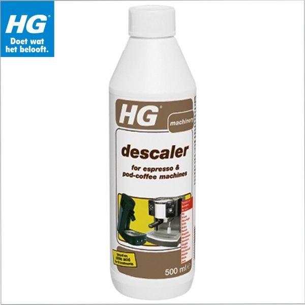 HG 에스프소커피머신 디스케일러500ml / 커피머신청소세제 에소프레소머신청소 물때청소 에소프레소 커...