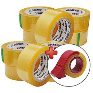 박스테이프 40mx10개 커터기증정 무료배송