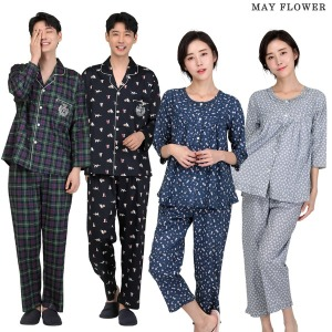 국내자체제작/순면잠옷/여성잠옷/남성잠옷/커플잠옷
