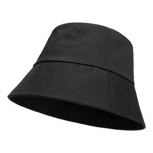 라핑 스탠다드 버킷햇 무지 남자 여성 벙거지 모자