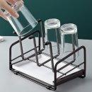 물받침 스틸 컵건조 컵걸이