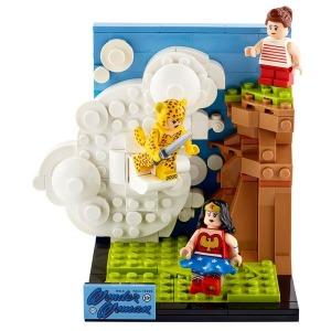 [해외]레고 레고 DC 팬돔 원더우먼 한정판 77906