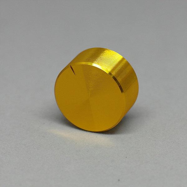 25x13mm 금색 알루미늄 오디오 볼륨 노브