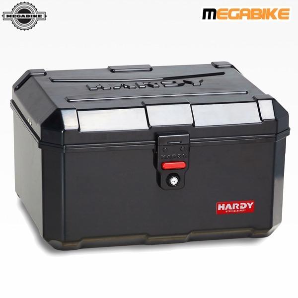 HD100 블랙 특대형 리어백 배달대행 박스 헬멧3개수납