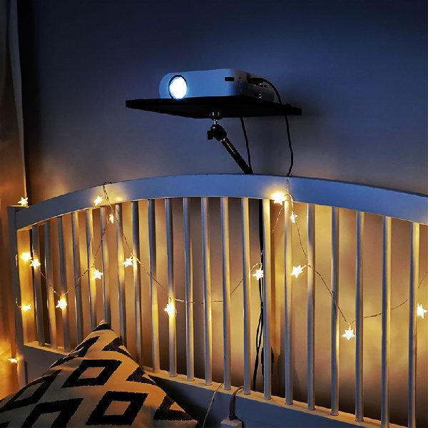소파 침대 빔프로젝터 틈새 거치대 벽 삼각대 선반