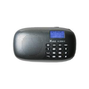 XUKE A3000 II 효도라디오 블랙/부모님/사랑의 콜센타