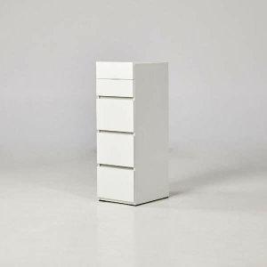 (현대Hmall) 2001OUTLET  ModernHouse 바일레 화이트 5단 서랍장(40cm)