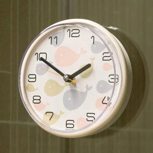 국산 욕실 디자인 흡착 방수시계