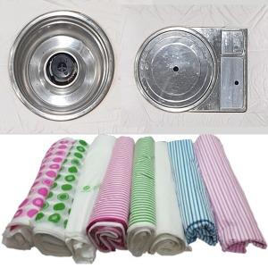 비닐식탁보 일회용식탁보 비닐테이블보 횟집비닐 칼라