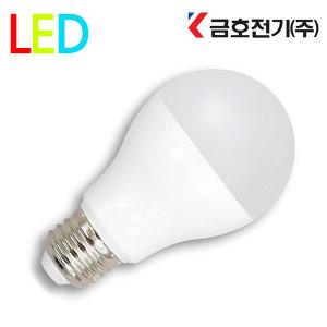 금호전기 LED전구 8W 10W 12W 백열전구 볼전구 촛대구