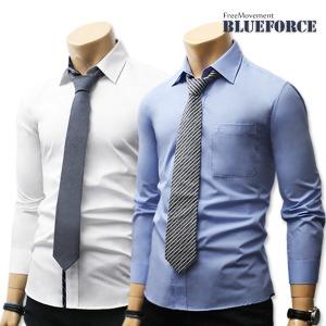 봄 와이셔츠/남자옷 드레스셔츠솔리드무지/정장남방