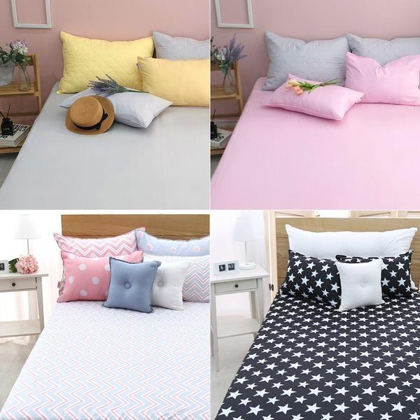국내산 사계절 피치스킨 매트리스커버 침대 매트커버