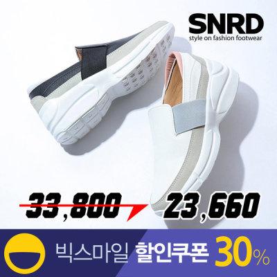 [에스앤알디] 여자신발 여성슬립온 키높이슬립온 스니커즈 SN564