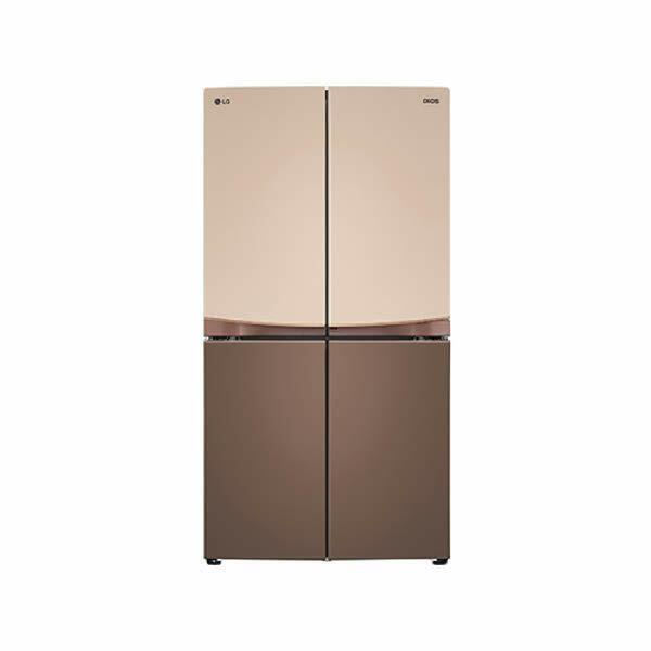 (현대Hmall)LG 디오스 매직스페이스 양문형냉장고 F873EF35E 870L