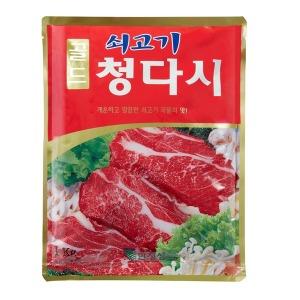 한정성 쇠고기 청다시 다시다 미원 (1kg x 10개입)