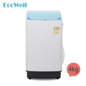 에코웰 전자동 미니세탁기 4kg 블루 XQB45-3566