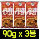 매콤달콤 바게트 90gx3봉/갈릭바게트/새우깡/자갈치