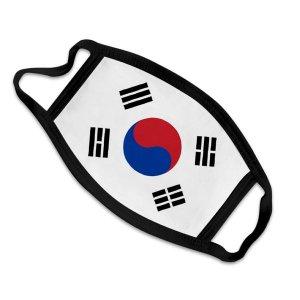 태극기 면마스크-집회 올림픽 경기응원 해외여행 용품