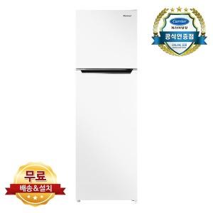 캐리어 255L 슬림형 냉장고 CRF-TN255WDE 무료설치