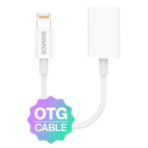 애플 아이폰 라이트닝 8핀 USB OTG 변환젠더 아이패드