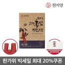 고려홍삼진액스틱 홍삼 홍삼농축액 100포 쇼핑백증정