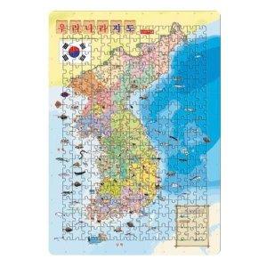 4절퍼즐/대한민국지도