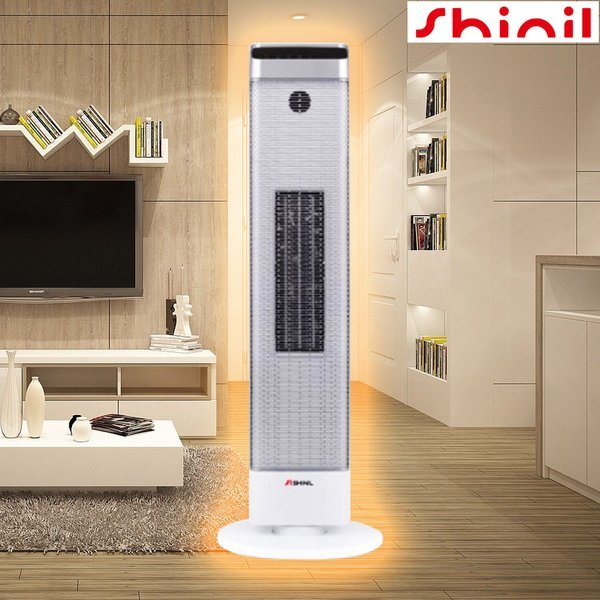 신일 공기순환 온풍기 SEH-D2010CT 타워히터 스탠드형