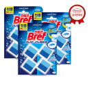 브레프 듀오큐브 블루 4P x3개 변기세정제