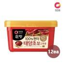 청정원 순창 (현미)찰고추장 1kg x12개 (1box)