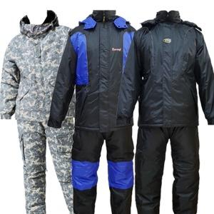 도롱이 겨울 방수 방한복 겨울 낚시복 동계 작업복