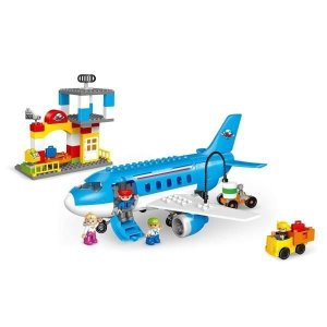 교통놀이/비행기/파랑/1007
