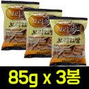 맥보리건빵 85g x 3봉/보리건빵/군대건빵/옛날과자