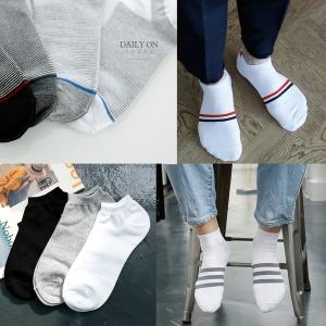 남자 패션 무지 단목 발목양말