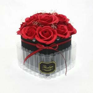하트 돈케이크(완성품) 용돈박스 생일 환갑 칠순 생신