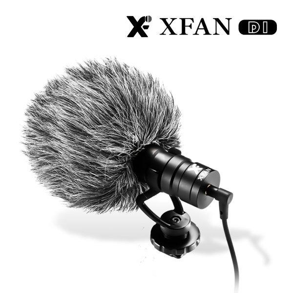 XFAN D1 지향성 TRS TRRS 프로페셔널 비디오 마이크