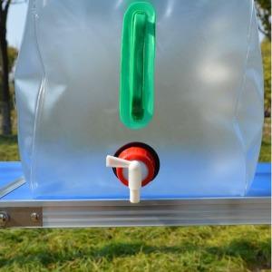 PVC 접이식 대용량 생수 캠핑물통 10L