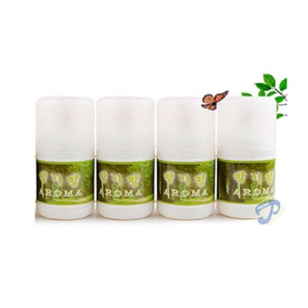 향기향4개 센서자동분사기 원액 주야기능 탈취/향기