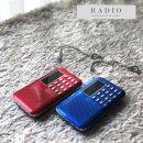 효도라디오 휴대용 MP3 K-218 블루 미스터트로트 음원